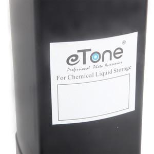Image 4 - ETone 1000CC Darkroom chemiczne butelki do przechowywania dewelopera plastikowe przetwarzanie folii 1L