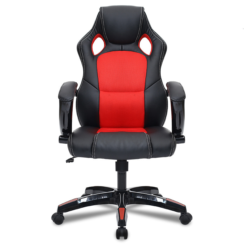 E1Computer Chair Home Office Meeting Chair Electric Racing Game Chair Racing Swivel Chair Can Lie Down Up And Down Rotation