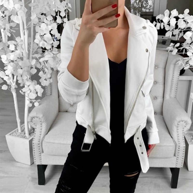 Vrouwen Winterjas 2019 Dames Effen Kleur Slim Revers Warm Blends Vrouwelijke Jassen Elegante Jassen Plus Size Uitloper Kpop parka