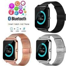 Bluetooth Smart Watch Z60 Wristwatches Support Camera Sim TF Card men women Wate