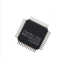 (1PCS) CS4382 KQZ LQFP 48 CS4382 KQ LQFP48 CS4382 K CS4382 4382 Digital to analog converter high quality new original
