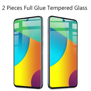 10PCS For Samsung Galaxy A51 Tempered Glass Full Glue 9H Shock-Proof Screen Protector For Galaxy A71 Glass