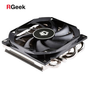 4PIN CPU cooler ITX Ultra-thin 30mm 115X 4 heatpipe cooling 9cm fan support Intel AMD