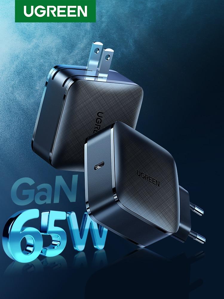 UGREEN Gan-Charger Tablet Type-C QC4.0 iPhone Xiaomi 65W