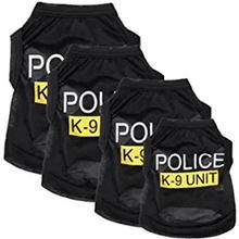 Костюмы полицейских для домашних животных футболка с принтом
