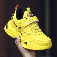 Новинка 2020 спортивная обувь для мальчиков черные желтые детские
