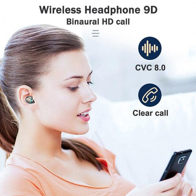TWS Bluetooth 5.1 Earphones...