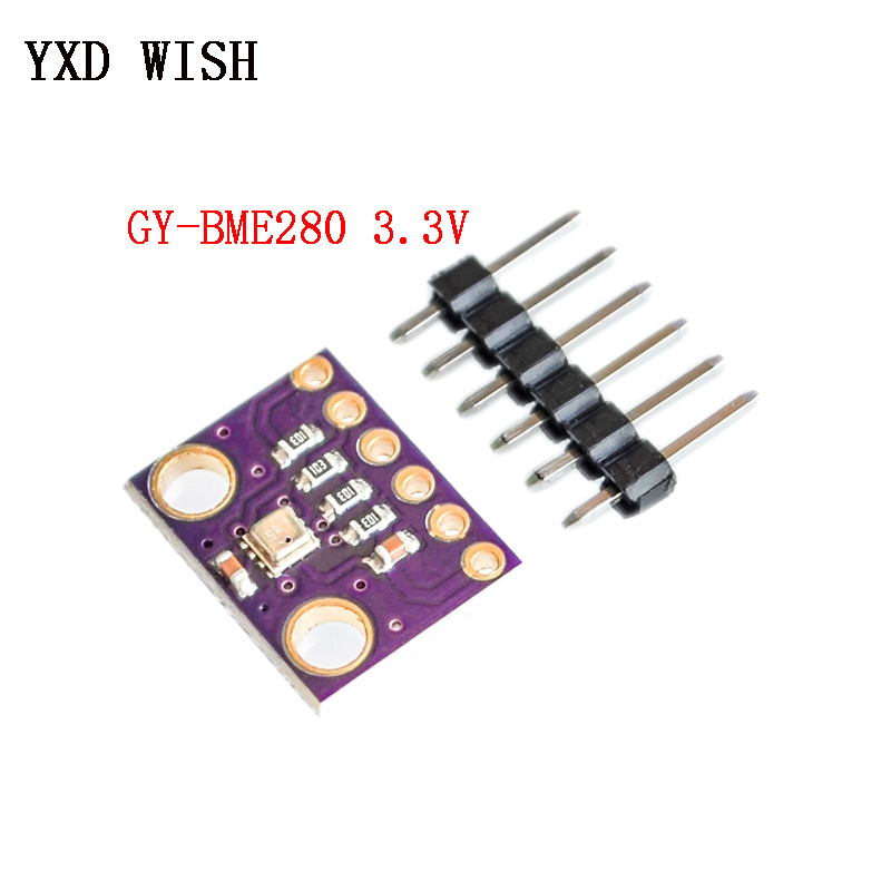 BME280 3.3V//5V Atmospheric Pressure Sensor Module Altimeter for Arduino SPI IIC