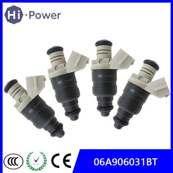 4x 06A906031BT 06A 906 031 BT Fuel Injector Nozzle For VW Volkswagen Caddy Touran Golf 5 Passat 3C injection Nozzle 06A906031CT