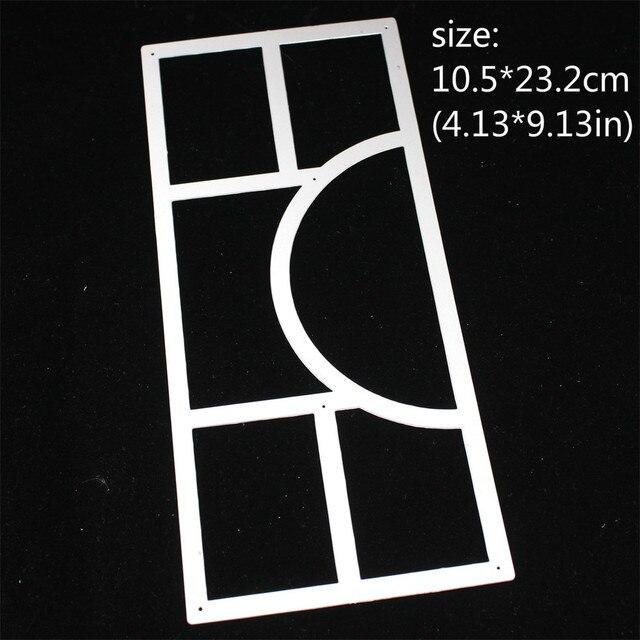 ZFPARTY bande dessinée mince cadre métal matrices de découpe pochoirs pour bricolage Scrapbooking décoratif gaufrage bricolage cartes de papier