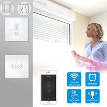 Electric Curtain Roller Shutter Smart WiFi Touch Switch voice control Google Home Amazon Alexa Echo App Timer Remote Control wifi intelligent remote control touch switch alexa voice control app remote control smart switch