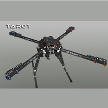 Original Tarot TL65B01 Carbon Fiber Iron Man 650 Foldable 3K CNC Quad copter Quadcopter Frame Kit