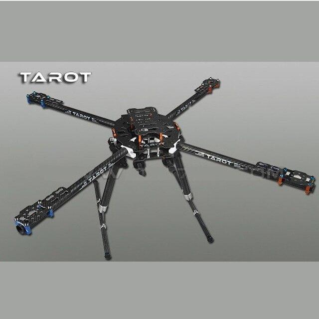 オリジナルタロット TL65B01 炭素繊維アイアンマン 650 折りたたみ 3 18k cnc クワッドヘリコプター quadcopter フレームキット