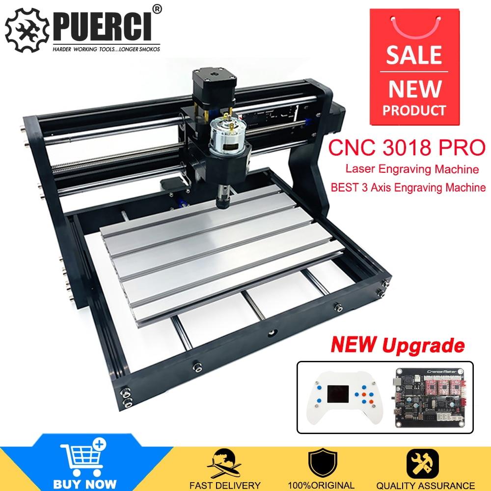 Laser Engraving Machine 3018 Pro CNC Machine Wood Router GRBL Control ER11 With Offline Controller CNC Mini Engraver