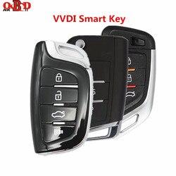 1/10 sztuk Xhorse oryginalny uniwersalny 3/4 przyciski bezprzewodowy/MQB zdalny inteligentny klucz do VVDI2/narzędzie VVDI MAX MINI kluczyk programista