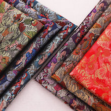 Sewing Design-Brocade Fabrics Jacquard Patchwork Material For Cheongsam Dress Handmade Clothing Satin Fabric