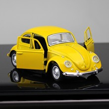 Классическая модель автомобиля из сплава в стиле ретро, классическая модель автомобиля, литой автомобиль, игрушечный автомобиль, Декор, кол...