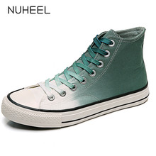 NUHEEL shoe sneakers for women shoes breathable women's casual shoes high-top vulcanized shoes women