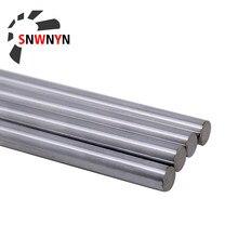 Axe optique OD 8mm 10mm 12mm 2 pièces, axe linéaire cylindre Rail linéaire, tige ronde lisse longueur 300mm - 600mm pour pièces d'imprimante 3D