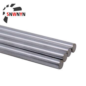 Optical Axis OD 8mm 10mm 12mm 2PCS Linear Shaft Cylinder Rail Smooth Round Rod Length 300mm - 600mm For 3D Printer Parts