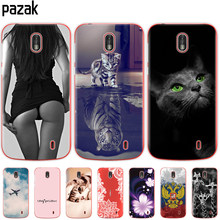 Phone Case For Nokia 1 Plus Case Cover Cute Cartoon Silicone Soft Back Cover Nokia 1 For Nokia1 Plus Case Bag bumper coque capa(China)