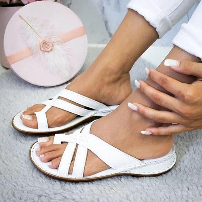 Women Sandals For Women Beach Shoes Low Heels Wedges Shoes Women Gladiator 2020 Summer Sandals Shoes