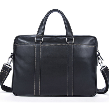 Fashion Handbag Cowhide  Leather Men Briefcase Brand High Quality Luxury Men's Messenger Bag for Male Business Bag Laptop