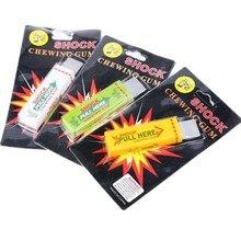 3Pcs Elektrische Schockierend Gum Spielzeug Schock Witz Gadget Streich Lustige Trick Gag Geschenk
