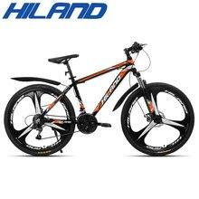 HILAND – Suspension de vélo 26 pouces 21 vitesses, frein à disque mécanique avec chaînes TZ50 et TEC, pneus cds