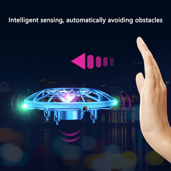 Hot Flying Helicopter Mini Drone UFO RC Drone Infraed Induction Aircraft Quadcopter Upgrade RC Toys For Kids,Children,Adult Toys