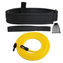 Rope Swimming Swim-Training-Resistance Adjustable Kids Adult Belt Strength Exerciser