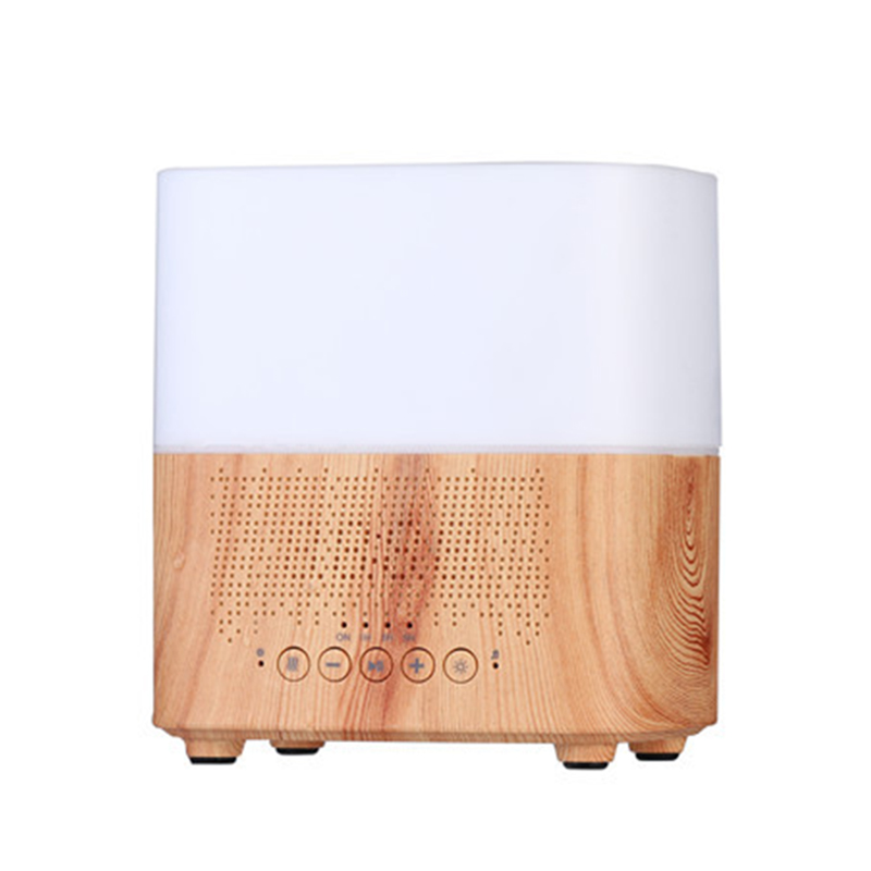 300Ml Multifunctional Bluetooth Aroma Oil Diffuser With Alarm Clock Aromatherapy Ultrasonic Air Humidifier For Room Home Office
