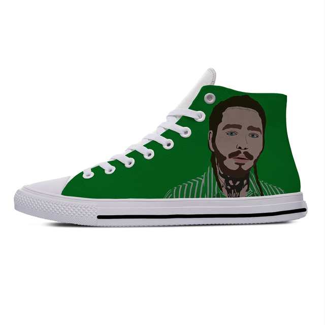 POST MALONE THEMED HIGH TOP SHOES (10 VARIAN)