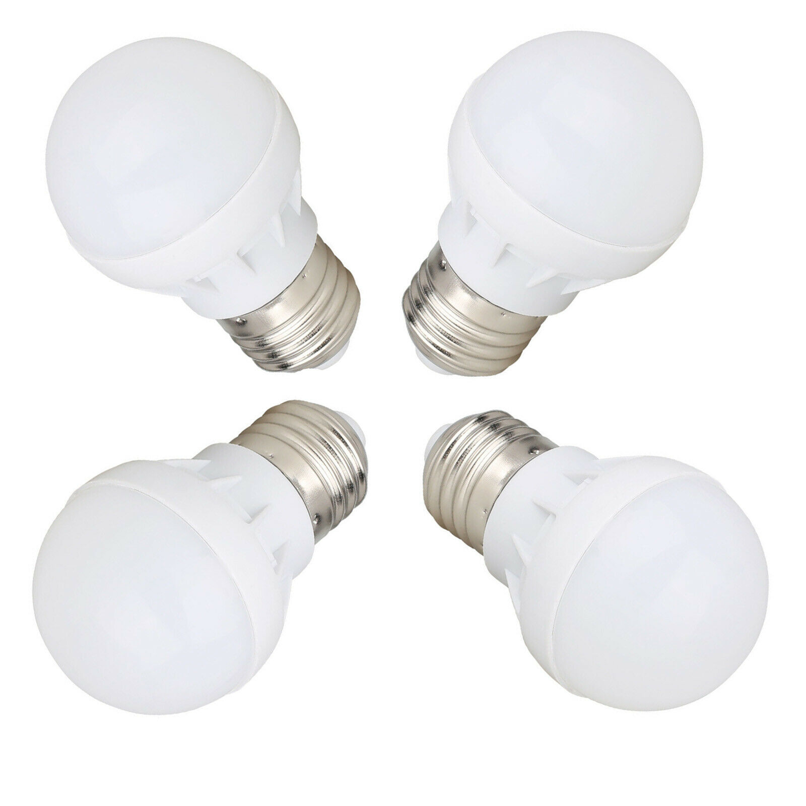 E27 E26 LED Globe Bulb Light 3W Cool Warm White Lamp AC 110V 220V  For Chandeliers Energy Saving Light Bombillas Replace Halogen