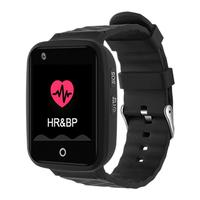 1.59inch Elderly Phone Watch 4G Heart Rate Blood Pressure Monitoring Smart Bracelet Waterproof Children GPS Sports Watch Tracker