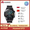 Huawei GT2 GT 2 Smart Uhr Globale Version 46mm SmartWatch GPS Wasserdichte Bluetooth Für Android iOS Herz Rate Ringer puls