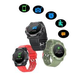 2021 Bluetooth Smart Uhr Blutdruck Herz-Monitor-Sport Smart Armband Männer Frau Smartwatch 1,3 Zoll Farbe Bildschirm