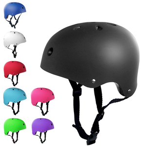 Safety Helmet Adult Child Bicycle Cycle Bike Scooter BMX Skateboard Skate Stunt Bomber Cycling Helmet(China)