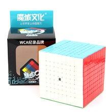 Moyu cubo mágico velocidade 7x7 9x9 8x8x8 cubo profisional weilong wr m meilong gts 3m kit 6x6 cubo para crianças brinquedos meninos quebra-cabeça