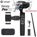 Hohem iSteady Pro 2 Splash Proof 3-Achse Handheld Gimbal Stabilisator für GoPro Hero 7/6 DJI Osmo für Sony RX0 SJCAM Action Kamera