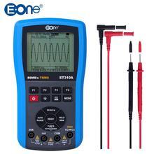 Eone ET310A осциллограф мультиметр Ручной цифровой накопитель 20 м полоса пропускания 80 мс/с TRMS мультиметр