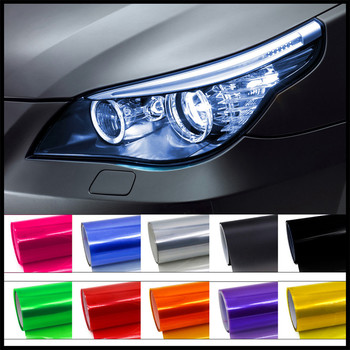 Car HeadLight lamp tial Light Decor Vinyl Film Sticker Decal for BMW E46 E39 E38 E90 E60 E36 F30 F30 image