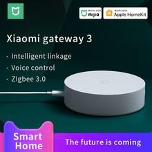 Xiaomi Mijia Gateway 3 Mi Smart home Hub mi Multi Mode Gateway ZigBee 3.0 Work with Mi home APP Apple Homekit APP