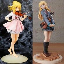 23cm miyazono kaori figura sua mentira em abril figura de ação anime boneca pvc sexo meninas modelo brinquedos coleção