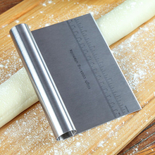 2020 Stainless Steel Pizza Dough Scraper Cutter Fruit Baking Pastry Spatulas Fondant Cake Decoration Tools Kitchen Accessories stainless steel pizza dough scraper baking pastry spatulas fondant cake decoration tools kitchen accessories