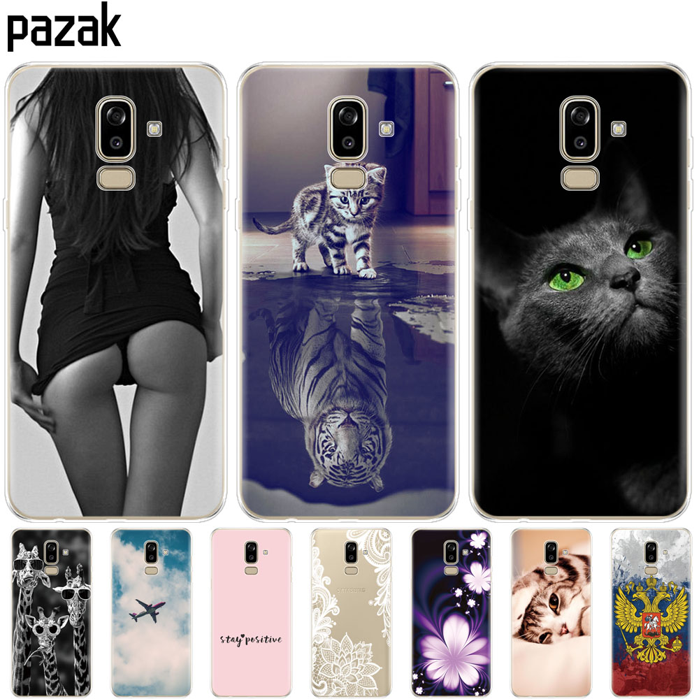 soft Case for Samsung Galaxy J8 2018 back Cover Silicone for Samsung Galaxy J8 2018 j810 Funda for Samsung J8 2018 Phone Cases