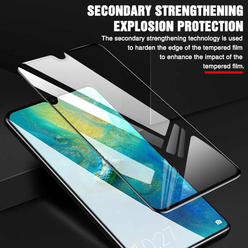 35D Protective Glass For Huawei Mate20 Lite 10 Pro mate9 Tempered Glass For Huawei P9 Plus P8 lite 2017 P9 Screen Protector Film