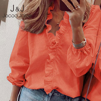 Elegant Boho Floral Print Slim Shirt Office Lady Retro Tops Women Casual Short Sleeve Sexy V-neck Ruffles Blouse 2020 Summer 1