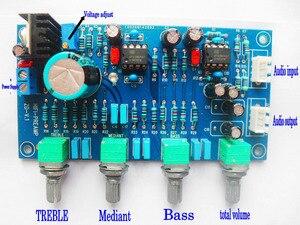 Image 2 - تيار مستمر 12 فولت 24 فولت OPA2604 OPAMP ستيريو Preamp قبل مكبر للصوت حجم لهجة لوحة تحكم مكبر للصوت مجلس المتكلم