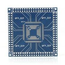 Adaptateur QFP/TQFP/LQFP 32/44/48/64/100/144 broches vers DIP pin Board, Module convertisseur, Promotion 828